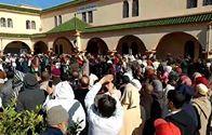 وقفة احتجاجية بمسجد  حي الزيتونة خريبكة