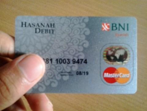 debit card atm bni syariah mastercard