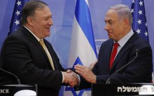 Pompeo, Netanyahu Discuss Iran's 'Malign Influence' After Soleimani Strike