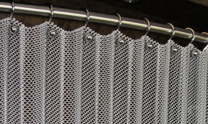 Metal Coil Curtain High Strength And Fire Prevention