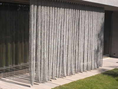 Scale Mesh Curtain Using It Without Shrink Or Stretch
