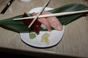 Maguro Nigiri - Bluefin Tuna, Chutoro & Seared Toro