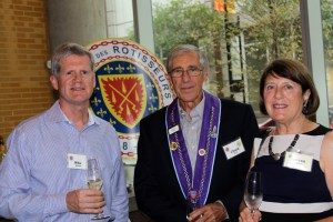 Chevalier Mike Ashwell, Chevalier Charles Mead, Joann Mead