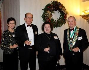 Beth Rader, Don McKee, Professionnel du Vin Mary Horn, Bailli George Elliott