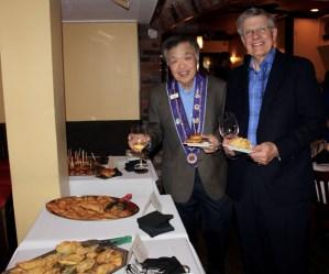 Vive Conseiller Gastronomique Chuck Hong, Dr. Stan Ignatow