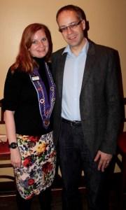 Vice Chancelier Argentier Bethanie Butcher, Guenter Matthews