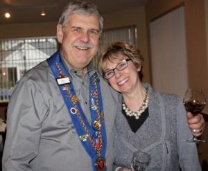 Vice Echanson Mike Monnin, Carol Monnin