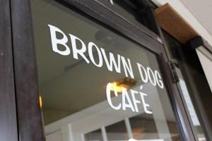 Brown Dog Café entrance