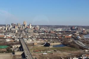 View of downtown Cincinnati