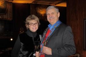 Carol Monnin and Vice Echanson Mike Monnin