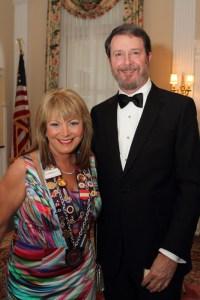 Dame Cynthia Scott and James Scott