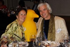 Joan Szkutak and Vice Chancelier-Argentier Hon. David Szkutak