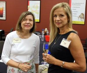 Jeane Elliott and Lisa Covert