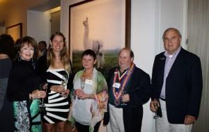 Gale Sheldon, Patty Pierce, Jan Lazarus, David Lazarus, Jr., Art Hatcher