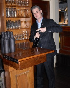 General Manager/Sommelier Devon Barrett