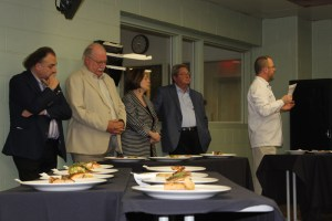 Judges Jean-Robert de Cavel, Master Chef John Kinsella, Marilyn Harris, Paul Parks