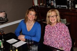 Professionnel du Vin Laura Ginn and Dame Nancy Lawson