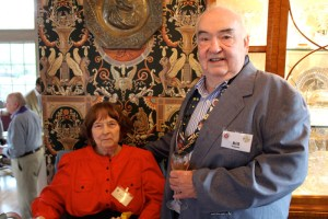 Carolyn Eckerle and Vice Conseiller Gastronomique Hon. Bill Eckerle