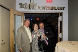 Culinary Judges Paul Parks, Marilyn Harris, Chef Jean Robert de Cavel