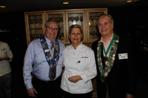 Clint Haynes, Rue Dumaine Executive Chef Anne Kearny, George Elliott