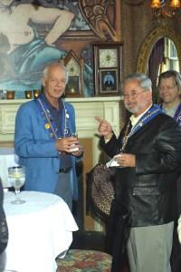 Andrew Robell, Vice Conseiller Gastronomique Robert Hasl, J.T. Mayer
