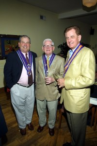 Chevalier Bill Stratman, Chevalier Jim Crowe, Len Marek