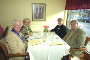 Howard Stevens, Sally Stevens, Cathi Tschirhart, Richard Tschirhart