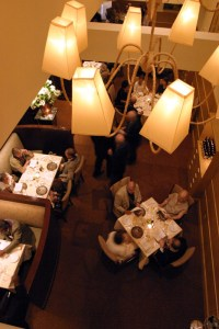 Main Dining Room viewed from above