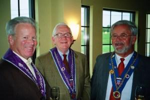 Chevalier Larry Kyte Jr., Chevalier Jim Crowe, Robert Hasl