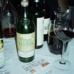 Oldest wine was the 1971 Chateau Haut Brion
