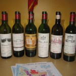 Six examples of Bordeaux from the 1982 vintage