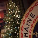Chaîne emblem and Christmas tree