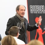 Georg Riedel explains how the glass helps with the wine