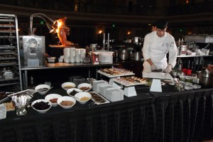 Pastry and dessert station