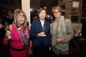 Dame Cindy Scott, Jeane Elliott, and Carol Monnin