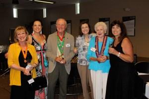 Evelyn Ignatow, Michelle Gill, Irwin Weinberg, Barbara Weinberg, Marj Valvano, Margaret Vontz