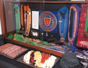 Midwest Culinary Institute Display of Chaine des Rôtisseurs items