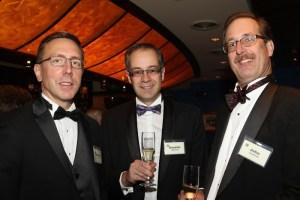 Michael Lancor, Guenter Matthews, and John Verschoor