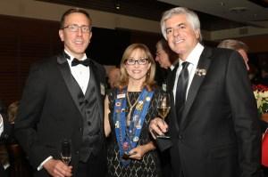 Michael and Barbara Lancor and John Mocker