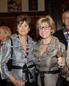 Sara Vance Waddell and Carol Monnin