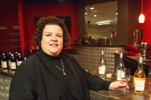 Mary Horn, Professionnel du Vin and presenter for the evening