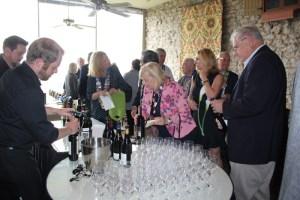 Sampling wines