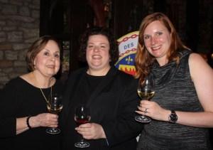 Mary Horn, Marilyn Harris, Bethanie Butcher