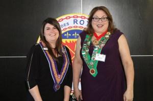 Professionnel du Vin Kate MacDonald, Bailli Provincial Midwest Renee Wilmeth
