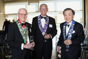 Irwin Weinberg, Bill Weyand, Chuck Hong