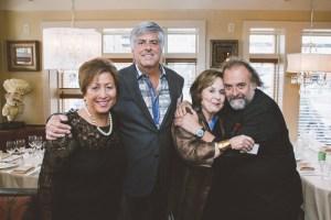 Mary Lou Lind, John Mocker, Marilyn Harris, Chef Jean-Robert de Cavel