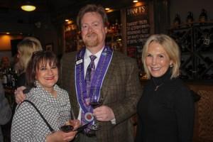 Carol White, Eric Durbin, Kathy Comisar