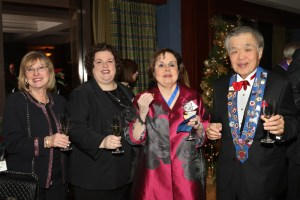 Evelyn Ignatow, Mary Horn, Marilyn Harris, Chuck Hong