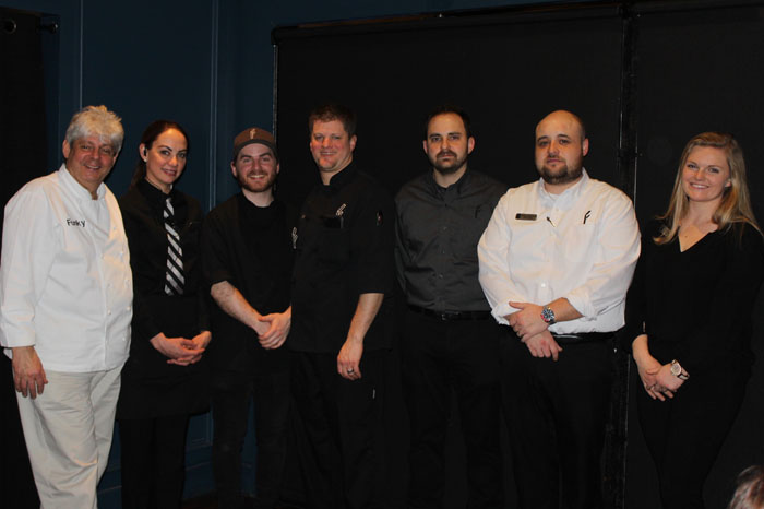 """Chef/Owner Michael """"Funky"""" Forgus and team"""