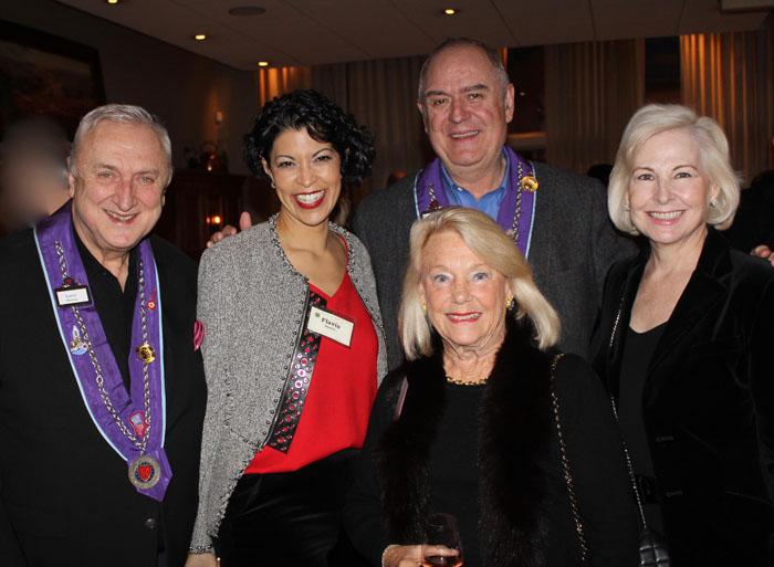 Larry Huston, Flavia Bastos, Barbara Weyand, John & Jeannine Winkelmann